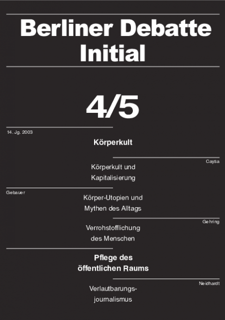 Cover von Körperkult