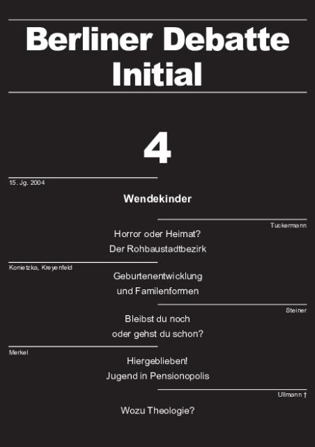 Cover von Wendekinder