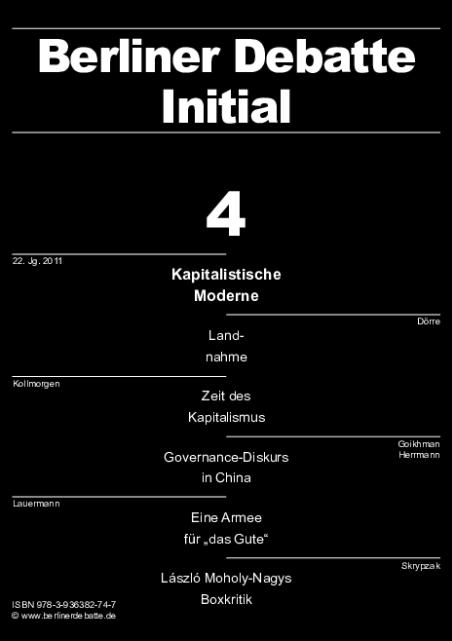 Cover von Die kapitalistische Moderne nach der Postmoderne