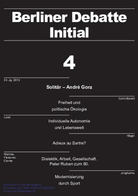 Cover von Solitär - André Gorz